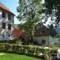 Les jardins du Musée Oberlin à Waldersbach. Crédit photo : Musée Oberlin / Denis Betsch
